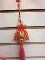 auspicious meaning - Sachet With Chinese Characteristics Velvet Meaning Auspicious Happiness For New Year Holiday Part Gifts