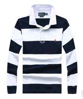 Wholesale Men s long sleeved shirt M lapel striped long sleeved cotton shirt