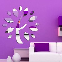 abstract art videos - Video wall fashion wall sticker Pro environment new type home decoration mm thickness D wishing tree Home decor ZL2319