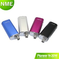 Wholesale vape mods thread battery Pioneer N30 w mod Simple kit fit vs topbox mini w aspire with USB charger cable authentic