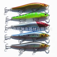 Wholesale 14cm g Outdoor Cooking Large Fishing Baits Bionic Bait fishing lures Bait Fishing tackle Lure Minnow Bait fish hook Saltwater Hard Baits
