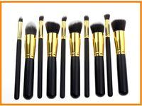 Wholesale 2015 Professional Cosmetic Facial Make up Brush Tools Wool Makeup Brushes Set Kit H10949 set hot sell Hot