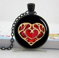 american pocket watch - Legend of Zelda Pocket Watch Necklace pendant Zelda heart silver photo locket necklace pendant Personalized Gift vintage pendant necklace