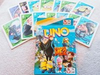 Wholesale UNO Despicable Me Minions Movie Gift Anime Kids BoysTravel Party Poker Card Game