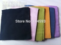 Wholesale Phone Computer Glasses cleaning cloth velvet on double sides good quality eyeglasses cloth sunglass cloth