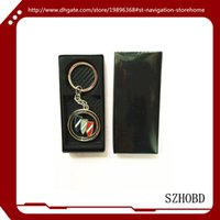 allure box - Car Accessories gift Metal buick car logo Keychain Keyrings buick Key Chain key ring with gift box