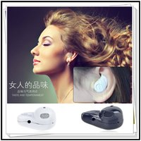 Wholesale Mini Bluetooth Earphone V4 Stereo Light Mini Bluetooth Earphone Stereo Wireless Invisible Headphones S530 Super Headset Music answer phone