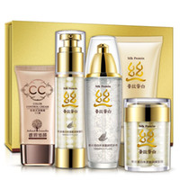 Wholesale Ya silk protein skincare cosmetic sets Moisturizing oil control shrink pores official direct sale face care skin care