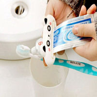 Wholesale Home Bathroom Tube Rolling Holder Toothpaste Squeezer Lovely Cartoon Convenient Fast Toothpaste Dispenser