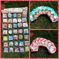 Precio de Tarjetas de navidad baratos-5 * 6cm plegables saludo 2.016 creativo Pequeño deseos tarjetas de sobres de Navidad Tarjetas de Navidad del árbol de navidad adorno de navidad Proveedores baratos