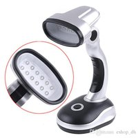 Wholesale Battery Powered Cordless Mini LED Emergency Desk Lamp Angle Adjustable table lamp light Emergency battery