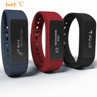 Wholesale Original iwown I5 Plus Smart Bracelet Bluetooth Activity Wristband Intelligent Sports Watch Step Sleep Track Caller ID display