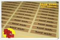 Wholesale CM DIY Scrapbooking Kraft Paper Hand Made Labels Envelopes Stickers handmade Seals Sticker