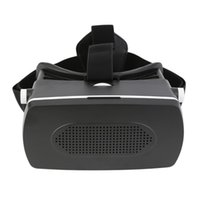 Wholesale New Virtual Reality D Glasses HeadMount Vedio Google Cardboard VR BOX D Movies Games Viewing Glasses For Cell Phone Smartphone