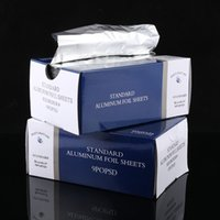 aluminum foil bakeware - Pop Up Interfolded Aluminum Foil food Wrap sheet silver paper wedding party bakeware x10 Box new product