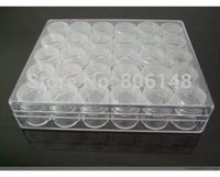 small plastic boxes - Small Bottle cm Clear Plastic Jewelry Beads Storage Box Retail DIY Jewelry Accessories Set Case1501