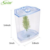 Wholesale Aquarium Fish Tank Suspension Multi functional Isolation Boxes Breeding Boxes Feeding Box