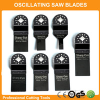 Wholesale Promotion set Universal Oscillating Tool Saw Blades Accessories fit for Multimaster power tools as Fein Dremel etc