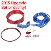high power car amplifier - Upgrade V W M Universal Car Amplifier Audio Installation Wires Cables Kit High power Car AMP