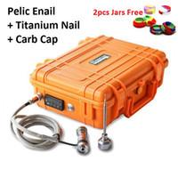 pelican - 2016 E Nail Kit D Dab Case Black Orange Pelican Pelic Box Electronic Nail Dabber Kit Coil mm mm titanium nail E Nail D Nail Box Kit