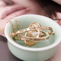 Wholesale 2015 Hot Sale Top Fashion Pendant Necklaces Unisex Harry Potter And The Hourglass Necklace Jewelry Time Converter Time turner Turner Horcrux