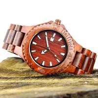bamboo sandal - Luxury wood watch with Japanese movement wooden wristwatches real wood bamboo watch maple sandal wooden watches