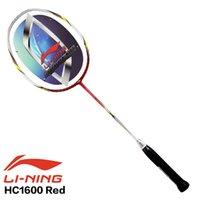 Wholesale original LINING badminton racket High Carbon HC1800 full carbon professional technology U Badminton racket
