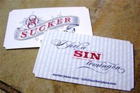 Wholesale custom business card tag according to you request