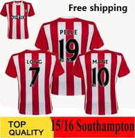 pelle pelle - 15 Southampton Soccer Jerseys Home Red White Pelle Jersey TADIC Shirt LONG Southampton Jersey MANE Football Shirt