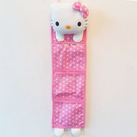 Wholesale baby crib bedding set bed linen hello kitty home daily Storage Bag storage bags hanging bags debris bags door cartoon baby cot