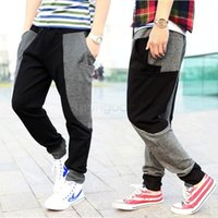 Wholesale Men s Sport Joggers Slim Fit Harem Pants Hip Hop Bandana Pants Outdoors Joggers Sweatpants Drop Crotch Pants Men SV03 CB033776