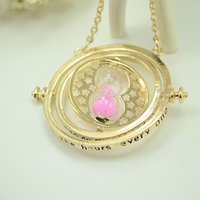 axis film - The Famous Film Harry Potter The Time Turner Converter Pendant Necklaces The Hour Glass Pendant the Time optical axis Pendant Necklaces