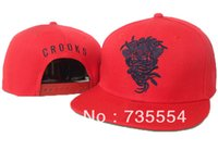 Wholesale Crooks and Castles snapback hats mens women cotton baseball caps styles Free hip hop cap shipping