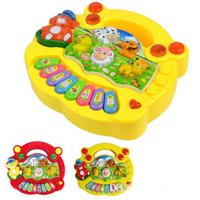 Wholesale 2016 new Learning Toys Popular Baby Kid Animal Farm Piano Music Toy Developmental Hot