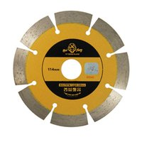 Wholesale 114mm Metal Alloy Circular Dry Segmented Stone Tile Diamond Blade Saws Cutting Ceramic Tile Cement Tools