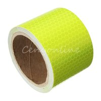 Wholesale 2016 New For M Fluorescence Yellow Reflective Safety Warning Conspicuity Tape