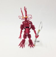 aluminum collectibles - Handmade diy Color aluminum shaped robot Children creative toys Exquisite handicrafts Decoration Fashion gifts collectibles Transformers