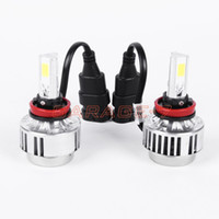 Wholesale Super Bright Led Headlight Bulb H8 All In One A336 H8 Car Led Headlight Fog Lamp COB LM K Cree Led Headlight Hot Sale