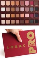 Wholesale Newest Mega LORAC PRO Color Eye Shadow Palette Blush Eyeshadow Makeup Cosmetic Palette from grandsky