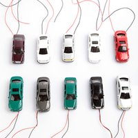 Wholesale 1 Flaring Light model cars Wired Painted Model Cars Toy Vehicles