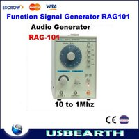 Wholesale 10Hz MHz Low Frequency Function Signal Audio Generator Producer REK RAG101