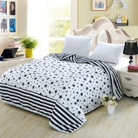 Wholesale The star pattern design cotton fabric super healthy and comfortable quilt on the bed XBGB011 model