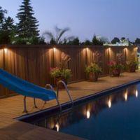 Wholesale Waterproof Solar Power Powered Outdoor Garden Light Gutter Fence Wall Roof Yard LED Lamp Lights