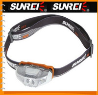 Wholesale SUNREE Lm CREE XTE R2 White LED Light Weight Motile Headlamp AA Headlight For Outdoors