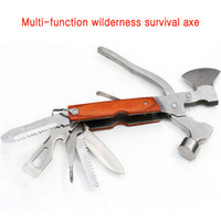 axe hammer - Life saving equipment Multifunctional axe camping tool safety hammer the axe escape tool in tools for outdoor sports
