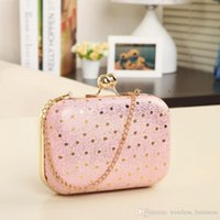Wholesale Fashion pu Leather Women s Purse Mouse lines dot evening Bag handbag clutch handbag messenger bags leather bag HM C10