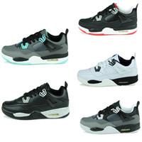 Wholesale Cheap Retro Basketball Shoes Athletics Boots Mens Men Sports Shoes Discount Sports Shoes Leather Mens Basketball Shoes