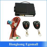 Wholesale US stock New1 Way Car Vehicle Burglar Alarm Security Protection System Remote Control