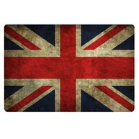 american printing house - New Arrival Non Slip Flag Mat Flag of the USA British Canada House Door Mats Slip Resistant Living Room Bedroom Rugs And Carpets