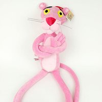 pink panther - Hot Sale cm Pink Panther Plush Funny Lovely Soft Toys Pink Leopard Best Toy For Kids